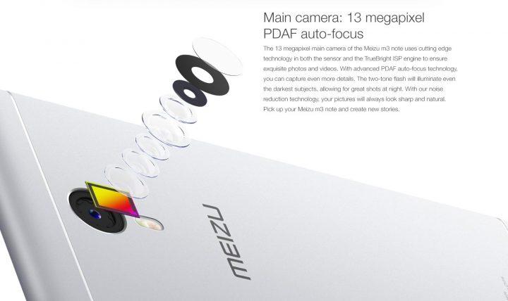 Обзор смартфона Meizu M3 Note на 16Gb и 32Gb