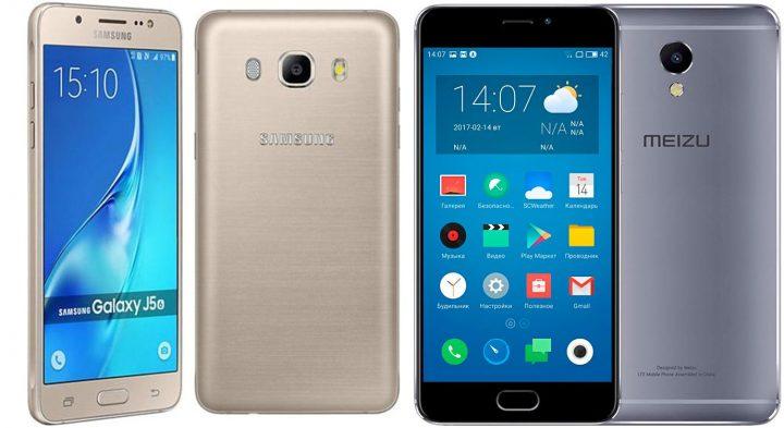 Подробное сравнение цен и характеристик Meizu и Samsung