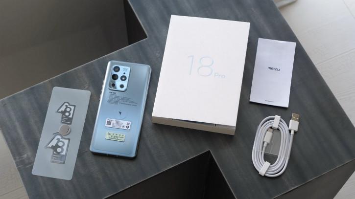 Обзор Meizu 18 и Meizu 18Pro: характеристики, сравнение, фото